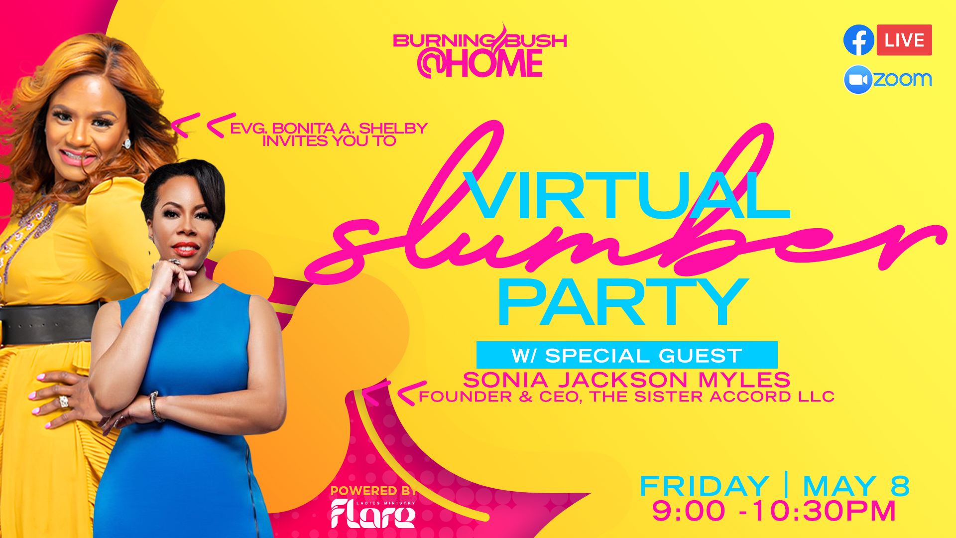 Virtual Slumber Party